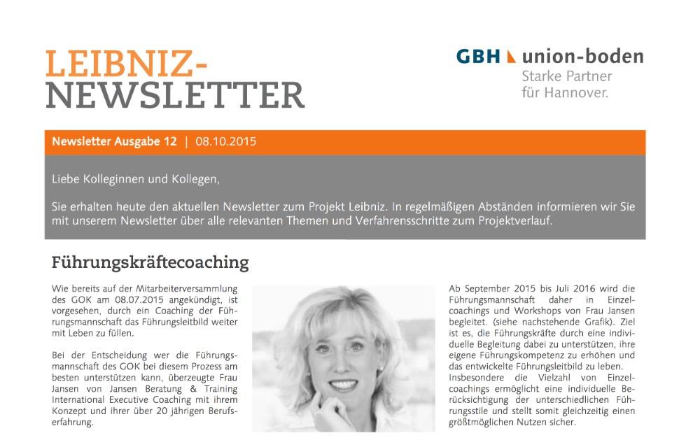 Fuehrungsleitbild - Leibniz Newsletter