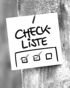 Sales Performance Checkliste