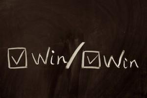 Konfliktstrategien in Unternehmen - Gewinner/Gewinner Stil